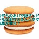 なつぞらのおバタ餡サンドのモデルは柳月のあんバタサン!通販最安値は?