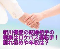 新川優愛 結婚相手 職業
