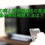 恋の病と野郎組8話の見逃し動画の無料視聴方法は?八代役正門良規のギターの腕前!