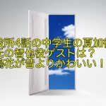 死役所4話の中学生の夏加役と彼氏の智也役ゲストは?豊嶋花が昔よりかわいい!