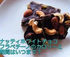 ナッティホワイトチョコレートフラペチーノ いつまで