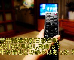 菅田将暉 紅白 2019 動画