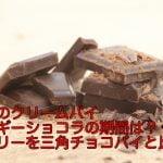 大人のクリームパイベルギーショコラの期間は?カロリーを三角チョコパイと比較!