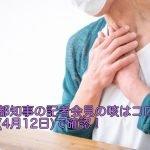 小池都知事の記者会見の咳はコロナ?動画(4月12日)で確認!
